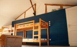 lit des dortoirs les martins du gite les dombes